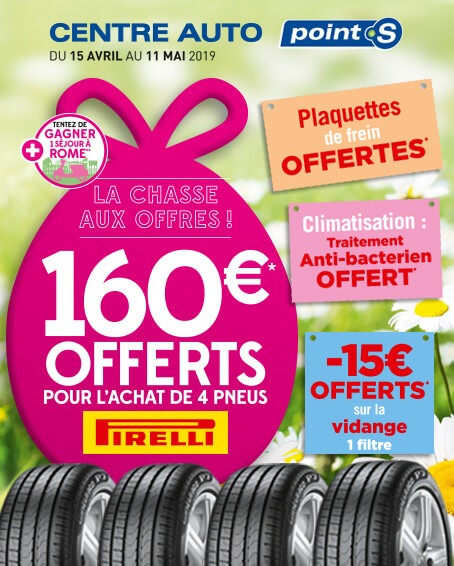 Offres promotions avril-mai 2019
